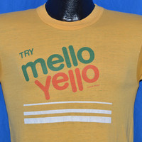 70s Mello Yello Soft Drink t-shirt Small