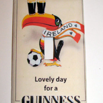 Light Switch Cover - Light Switch Plate Lovely Day for a Guinness Beer
