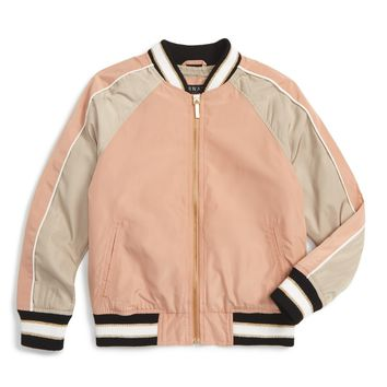 Bernardo Bomber Jacket (Big Girls) | Nordstrom