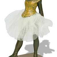 Little Dancer of Fourteen Years with Fabric Skirt by Degas, 6.5H - DE03