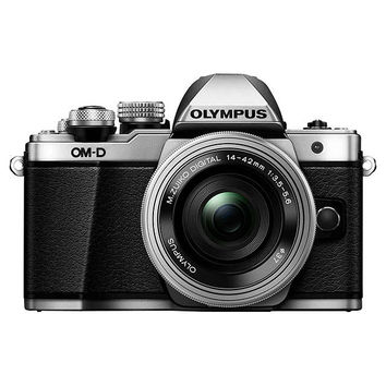 """Olympus OM-D E-M5 Mark II Compact System Camera, HD 1080p, 16MP, Wi-Fi, 3"""" LCD Touch Screen with M.ZUIKO DIGITAL 14-42mm EZ Lens at John Lewis"""