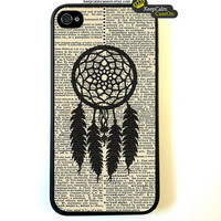 iPhone 4 Case Dreamcatcher iPhone Case Hard by KeepCalmCaseOn