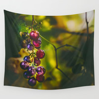 Pinot II Wall Tapestry by HappyMelvin