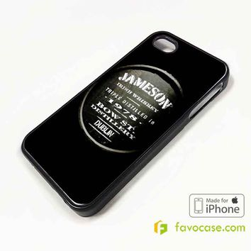 JAMESON Irish Whiskey iPhone 4/4S 5/5S/SE 5C 6/6S 7 8 Plus X Case Cover