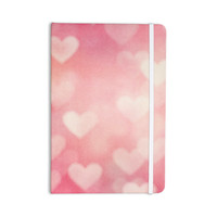"Heidi Jennings ""Love is in the Air"" Pink Everything Notebook"