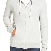 Men's Threads for Thought Waffle Knit Thermal Zip Hoodie,