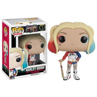 Funko Pop 97  Suicide Squad Boomerang Batman Joker Harley Quinn Deadshot Rick Katana 10CM Action Figure Super Heroes Collection