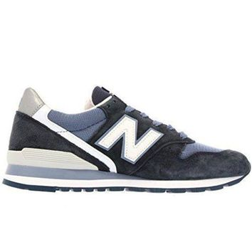 ICIKGQ8 new balance m996cpi navy white suede mens running shoes made in usa
