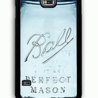 Samsung Galaxy S5 Case - Rubber (TPU) Cover with Limited Edition Mason Jar Rubber Case Design