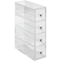 Walmart: InterDesign Storage and Organization Drawers Tower, 4-Drawer Flip