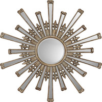Paragon Retro Starburst Contemporary Wall Mirror