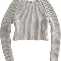 T by Alexander Wang Cropped Pullover at Barneys.com