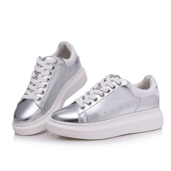 2016 spring   Breathable female platform women shoes ladies joker canvas shoes women casual shoes Height Increasing CRUSHOE12