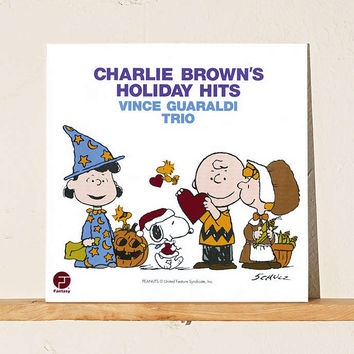 Vince Guaraldi Trio - Charlie Browns Holiday Hits LP - Urban Outfitters