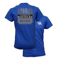 Southern Couture University of Kentucky Wildcats Classic Preppy Girlie Bright T Shirt