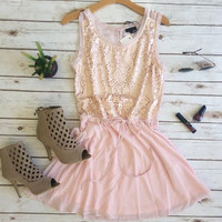 Time After Time Dress- Pink