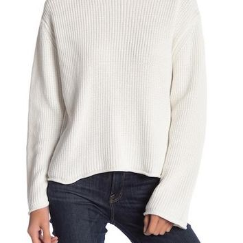 Genevieve Cold Shoulder Sweater