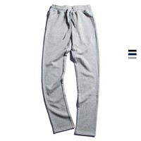 Casual Cotton Sports Men's Fashion Korean Men Slim Pants [235158798365]