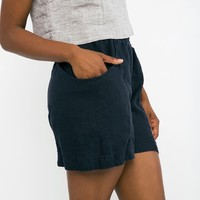 Clyde Work Short in Midweight Linen