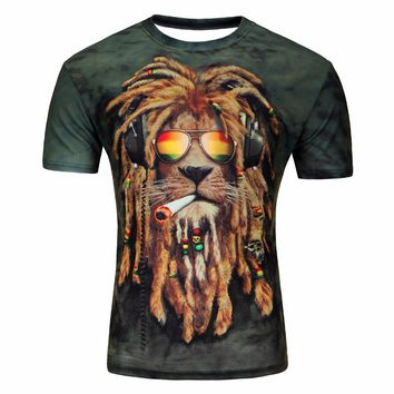 New Galaxy Space men 3D T Shirt Lovely Kitten Cat Eat Taco Pizza Funny Tops Tee Short Sleeve Summer Shirts Plus Size