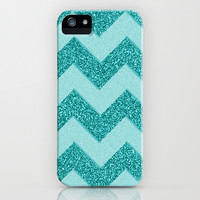 Chevron Frost iPhone & iPod Case by Alice Gosling