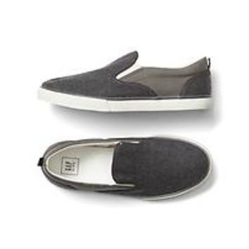 Herringbone slip-on sneakers | Gap