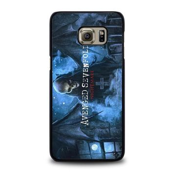 avenged sevenfold samsung galaxy s6 edge plus case cover  number 1