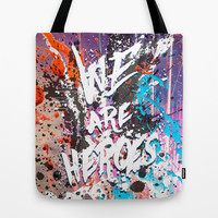 Hero Sessions I Tote Bag by HappyMelvin