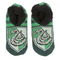 Harry Potter Slytherin Cozy Slippers