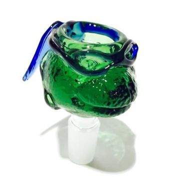 Ninja Turtle Glass Bowl