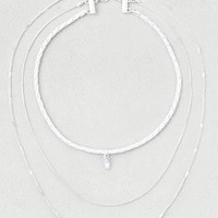 AEO Choker + Layering Necklaces, White