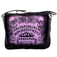 Ouija board Messenger Bags in colors