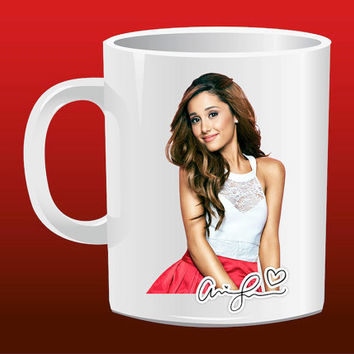 Ariana Grande Signature for Mug Design
