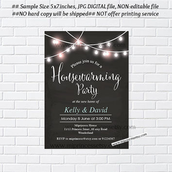 housewarming invitation, housewarming bbq, New house home sweet home Invitation Card | We have moved Invitation Card Design - card 510