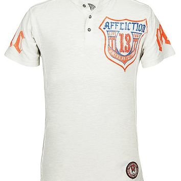Affliction American Customs ACMC Henley T-Shirt