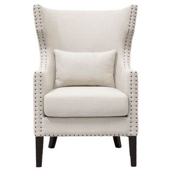 Berkley Club Chair Oatmeal Linen