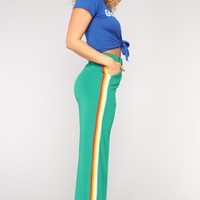 Don't Rain On My Parade Pants - Green