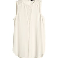 H&M - Sleeveless Blouse