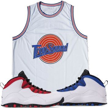 Jordan 10 Westbrook Basketball Jersey - TRAP