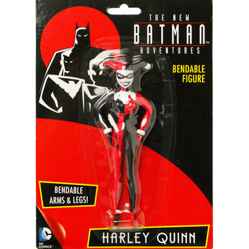DC Comics The New Batman Adventures Harley Quinn Bendable Figure