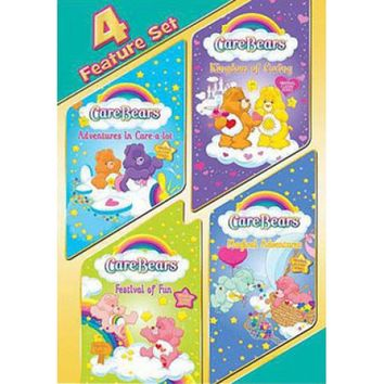 Care Bears: 4 Feature Set - Adventures In Care-A-Lot / Kingdom Of Caring / Festival Of Fun / Magical Adventures (Full Frame) - Walmart.com