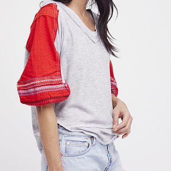 Bubble Tee - Grey by Free People