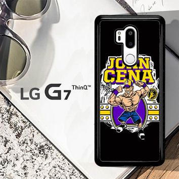 John Cena Cenation Cartoon V0479 LG G7 ThinQ Case