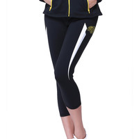 Wichita State Shockers NCAA Womens Yoga Pant (Black) (Large)