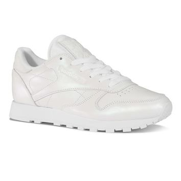 Reebok Classic Leather Pearlized - White | Reebok US