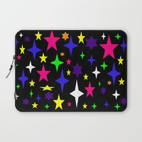 Colorful starS Laptop Sleeve by 2sweet4words Designs