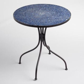 Peacoat Blue Cadiz Outdoor Bistro Table