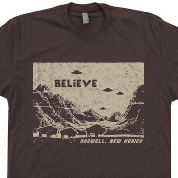 UFO T Shirt Ufo Shirt Flying Saucer Shirt Roswell New Mexico Shirt Area 51 T Shirt