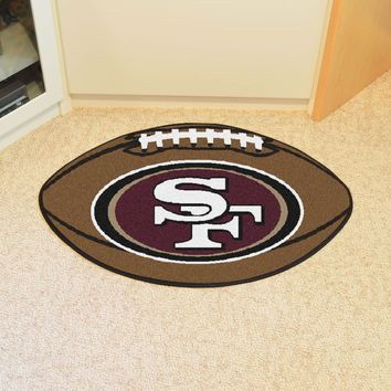 FANMATS San Francisco 49ers NFL Football Mat