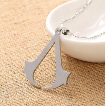 Assassins Creed Stainless Steel Pendant